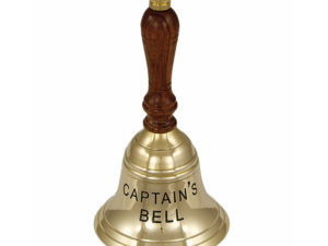 Handglocke Messing – Captains Bell – 16cm
