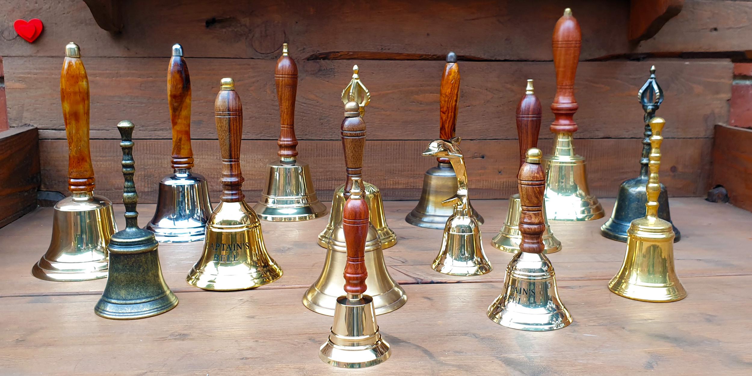Haufenweise Glocken