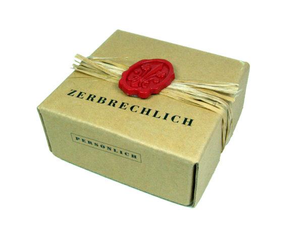 Handschmeichler Klangherz in der versiegelten Box