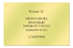 Roman 4L