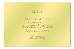 SL 543