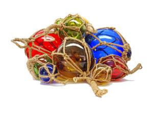 Fischerkugeln in vielen Farben und Größen