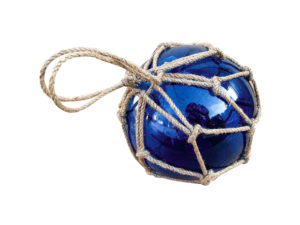 Fischerkugel Blau