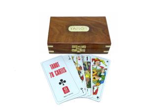 Seaclub Tarot Karten Teak-Holz Box 9040